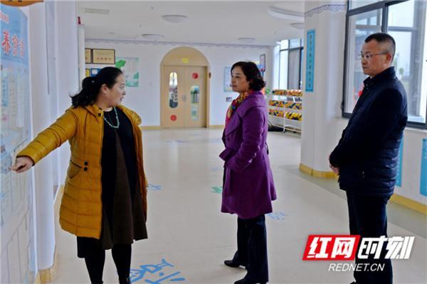 湘潭市教育局来昭山示范区调研教育相关工作