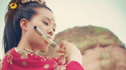 古装女子中, 吹笛子最漂亮的五大当红明星, 古力娜扎第二, 第一竟然是