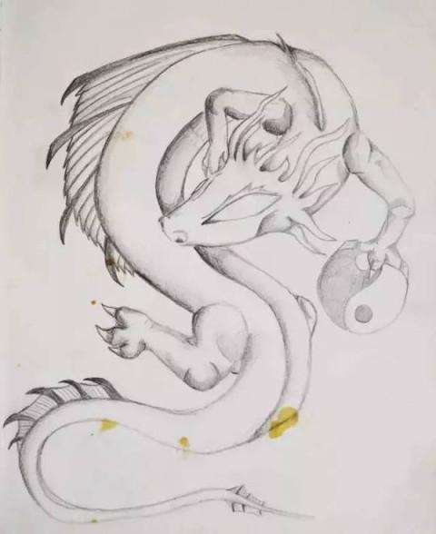 好pia pia 把兴趣移到了动物画上面 走起了魔幻现实风 对人物画有兴趣
