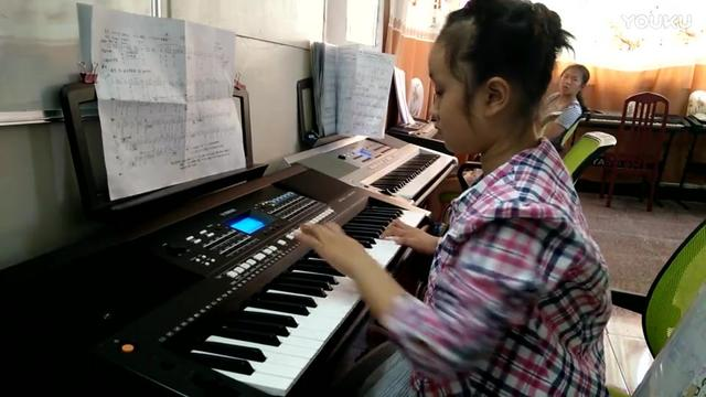 电子琴伴奏演唱 天路