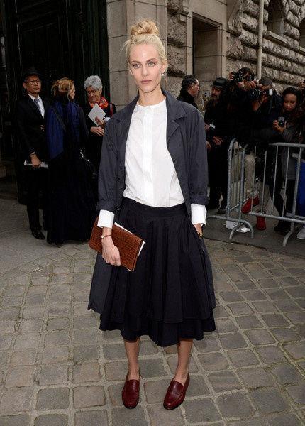 半身裙很百搭图片_半身裙很百搭 但你真的会穿吗?