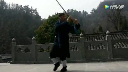 武当太极剑真正的气功功法, 看似波澜不惊实为内力深厚
