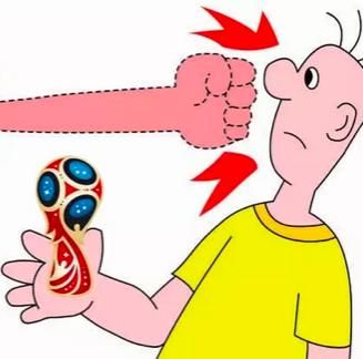 俄罗斯吐槽2018年世界杯会徽 战斗民族欢乐多