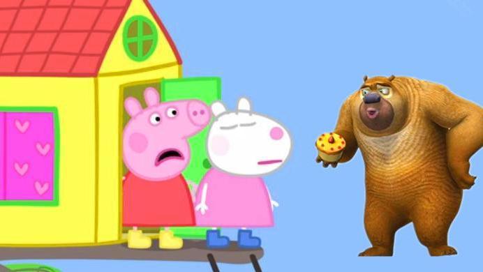 打开 打开 芭比娃娃与粉红猪小妹都喜欢玩秋千,小公主苏菲亚 葫芦