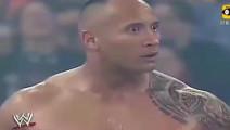 巨石强森生涯最害怕的一个对手,胆怯不敢上场,看得都吓尿了!
