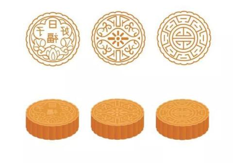 团花纹至今也是众多月饼厂家 最独爱的花纹之一 花色团圆 富贵吉利