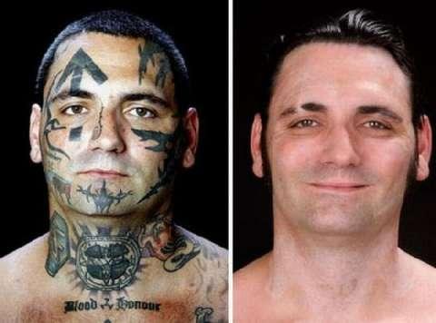 美国黑社会头目为家庭洗掉纹身, 从此变身好男人 9