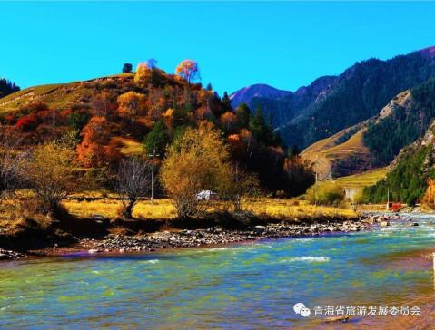 乡土气息秋天风景图