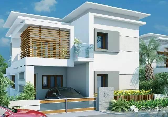新农村自建房两层半单间设计图展示