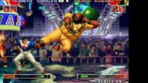 拳皇97 小猴子突然变成了孙悟空 皇姑的大门直接被击败了