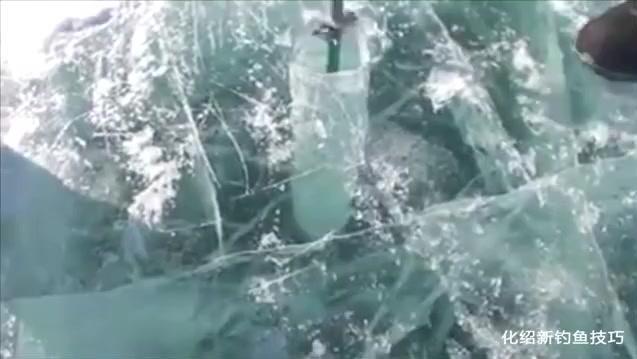 冰钓绝对是个体力活,看完这哥们钓鱼我信了