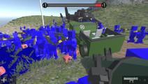 面面解说 战地模拟器 玩具总动员争霸赛!200人穿越火线大乱斗