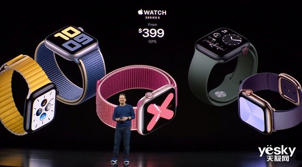 加入心率监测功能! 苹果第五代Apple Watch来了