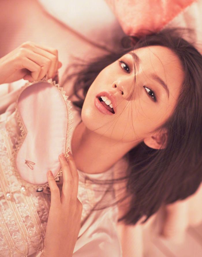 张梓琳时尚大片 怀孕生娃