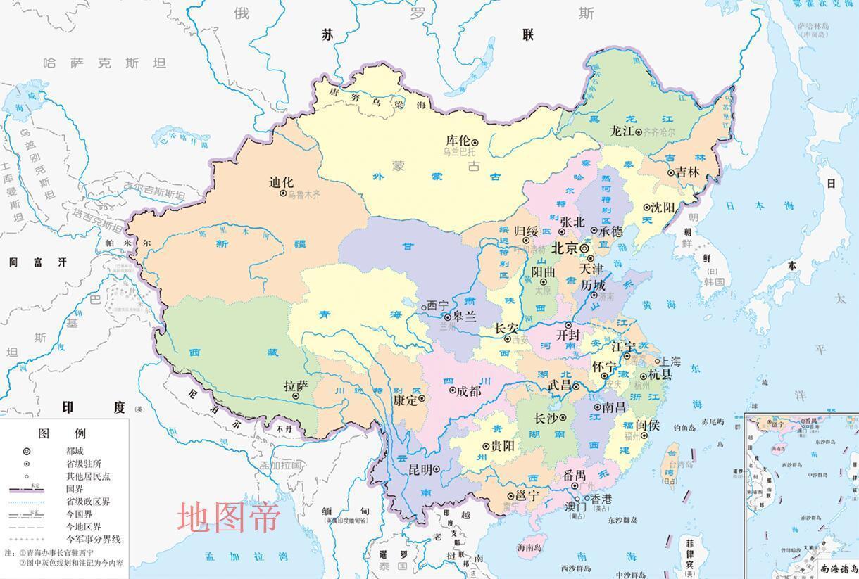 海棠叶版图 - shufubisheng - 修心练身的博客