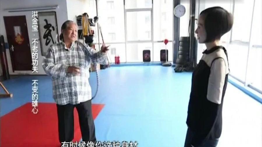 洪金宝教授鲁豫防身术胖子与瘦子的故事