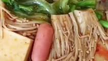 在家也能吃到麻辣烫,做法超级简单的美食