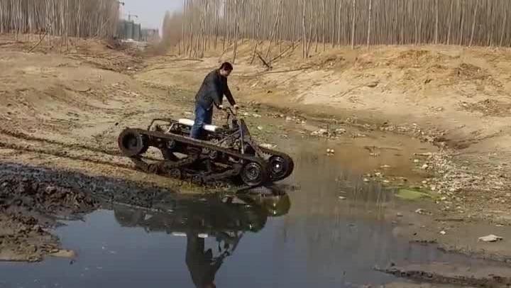 农民自己研制的过河坦克怎么样?