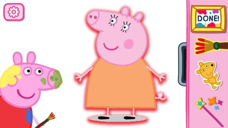 猪妈妈_小猪佩奇的课外作业 给猪妈妈画像