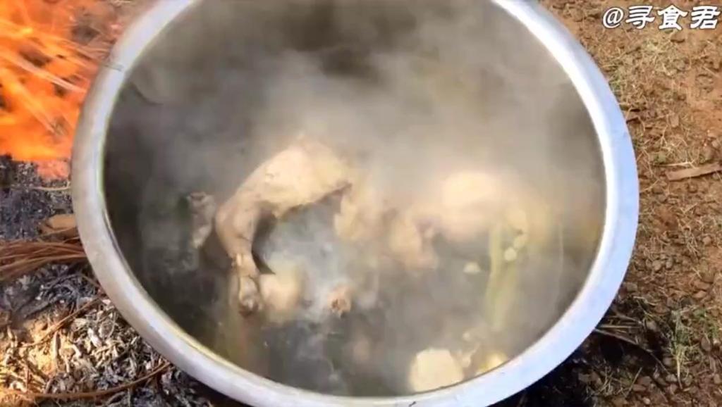 印度厨师放大招,用300个鸡蛋和3只鸡一起煮,结果鸡没啦!