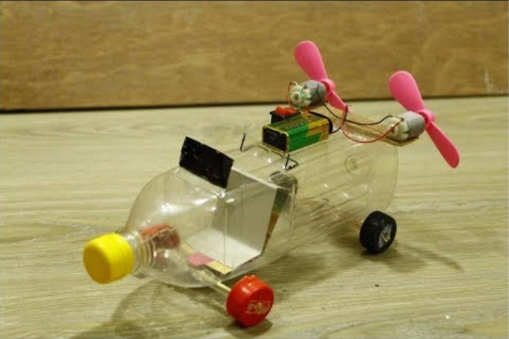 牛人教你在家自制涡轮动力小车!