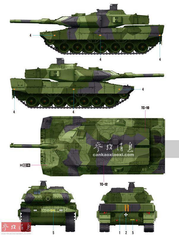 1分钟内灭六目标! 瑞典豹2坦克实弹打靶(图3)