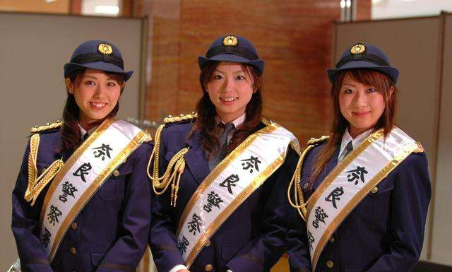 亚洲六国女警察对比, 日本的最可爱, 俄罗斯最靓, 中国的最帅!