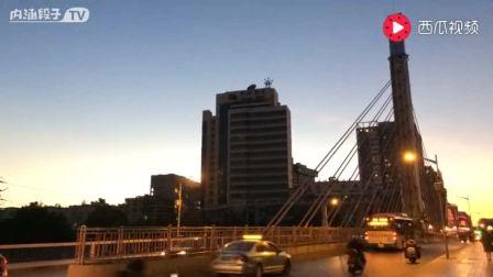 苹果5s拍的延时摄影(昆明圆通大桥