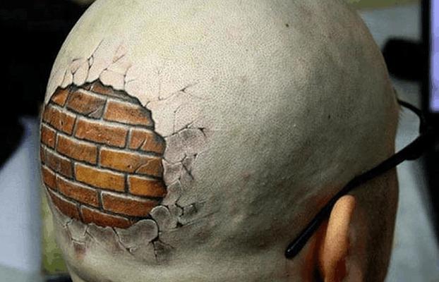 盘点各种奇葩纹身, 段子手纹的就是不一样