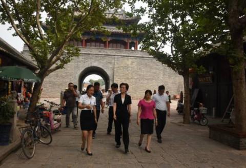 许昌市政府副市长赵淑红调研襄城旅游发展情况