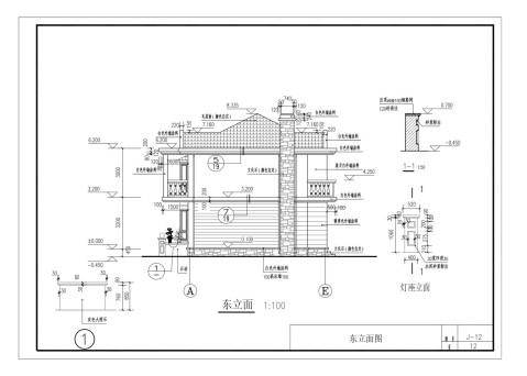 11x9米自建房全套图纸, 适合湖南农村, 可直接回家建