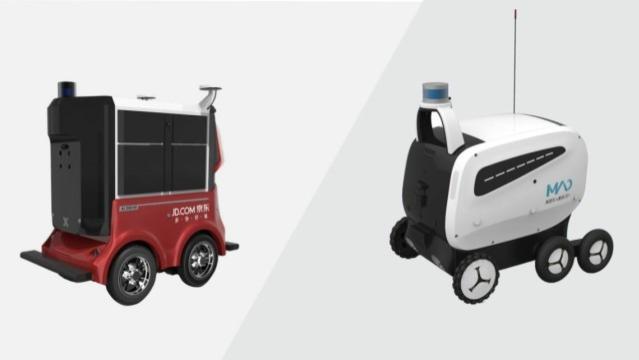 美媒称: 中国和日本的送餐机器人, 很快可以为客户配送食物