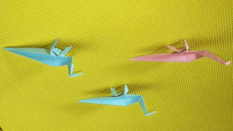 折纸大全69 折纸恐龙之剑龙