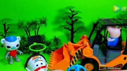 儿童工程车玩具动画片