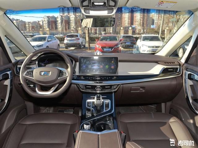 主销车型预售15-18万 吉利嘉际3月11号上市(图5)