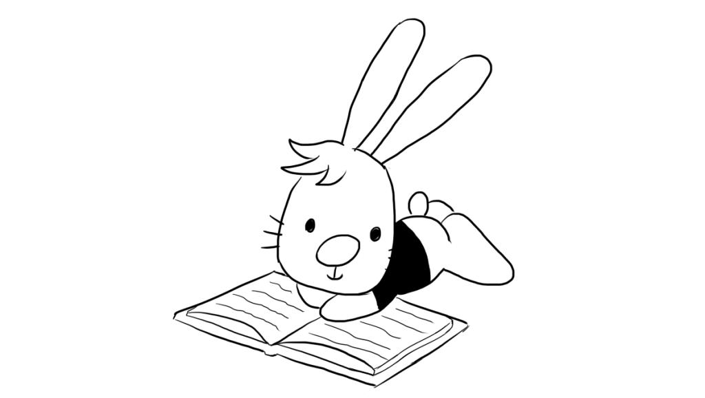 打开 打开 看书的小兔子儿童亲子简笔画 打开 俊俏男子失血过多,狐妖