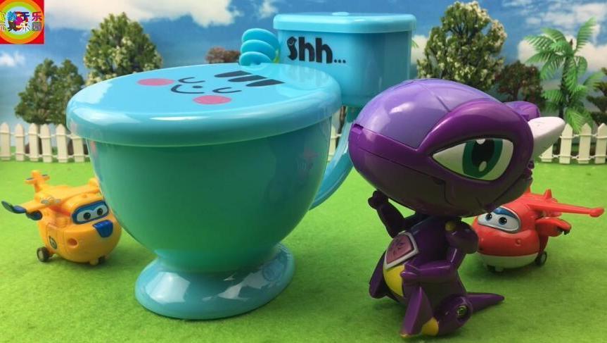 超级飞侠玩斗龙战士过家家亲子玩具拆箱