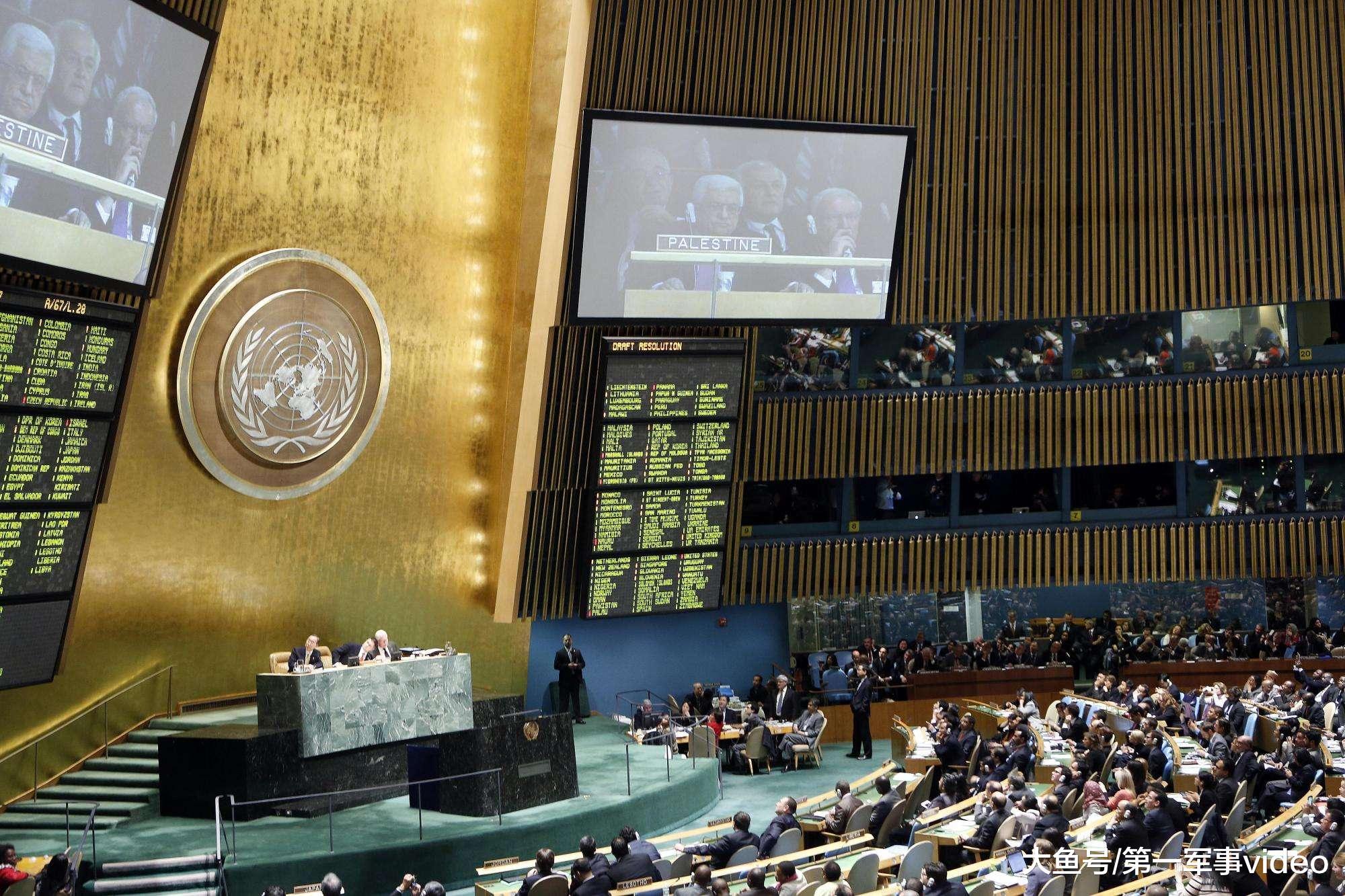 联合国披露信息, 戳穿美国虚伪面纱, 让其下不了台