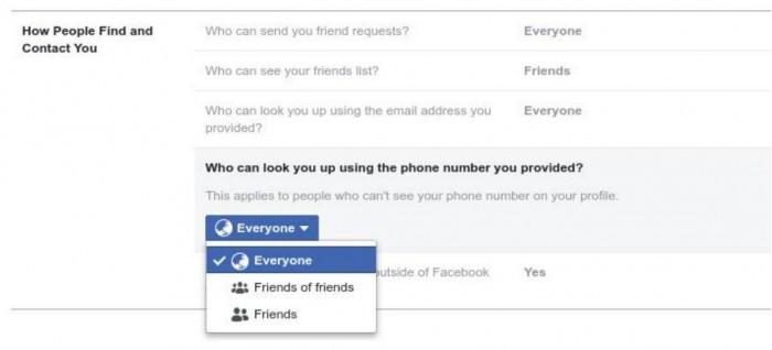 Facebook隐私改革: 切断安全工具与好友推荐之间联系