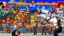 拳皇97 世界第一蔡宝健极限翻盘 5强人物就是厉害啊