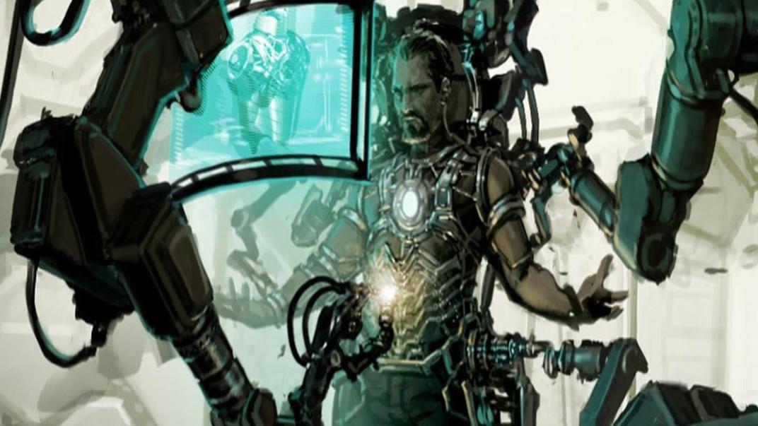 《鋼鐵俠1》全新概念圖, 托尼穿戰甲的5個帥氣瞬間, 不比電影效果差!