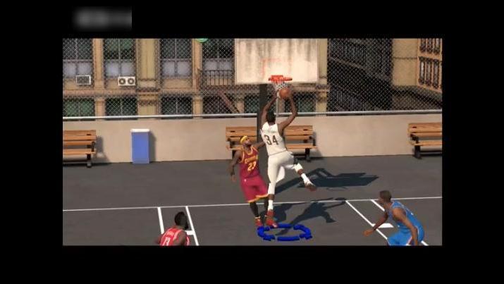 NBA2K15十佳球库里麦迪詹姆斯哈登