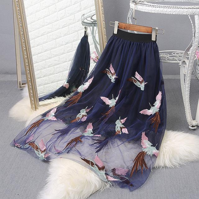 纱裙半身裙_俘虏无数女人芳心的网纱裙, 若隐若现的朦胧感, 女人魅力十足