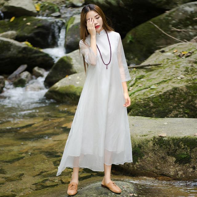 """姑娘不要穿韩版了, """"改良汉服""""才是17年的流行趋势, 优雅大方 17"""