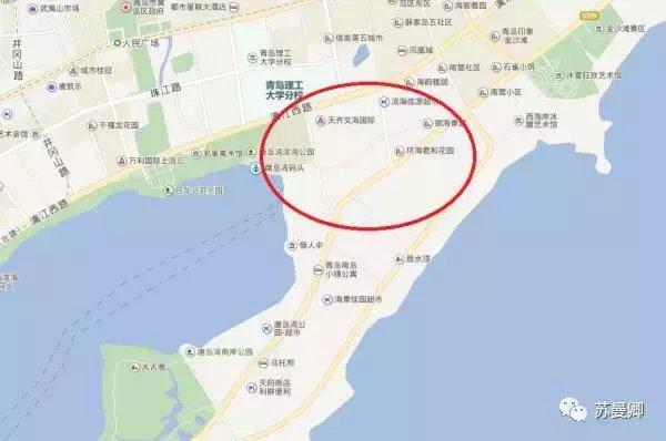3. 老黄岛和老胶南搭界处(灵山卫南侧,积米崖北侧)