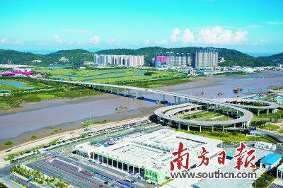 横琴乃至珠海休闲旅游产业的发展,投资500亿元的长隆第二主题公园工程图片