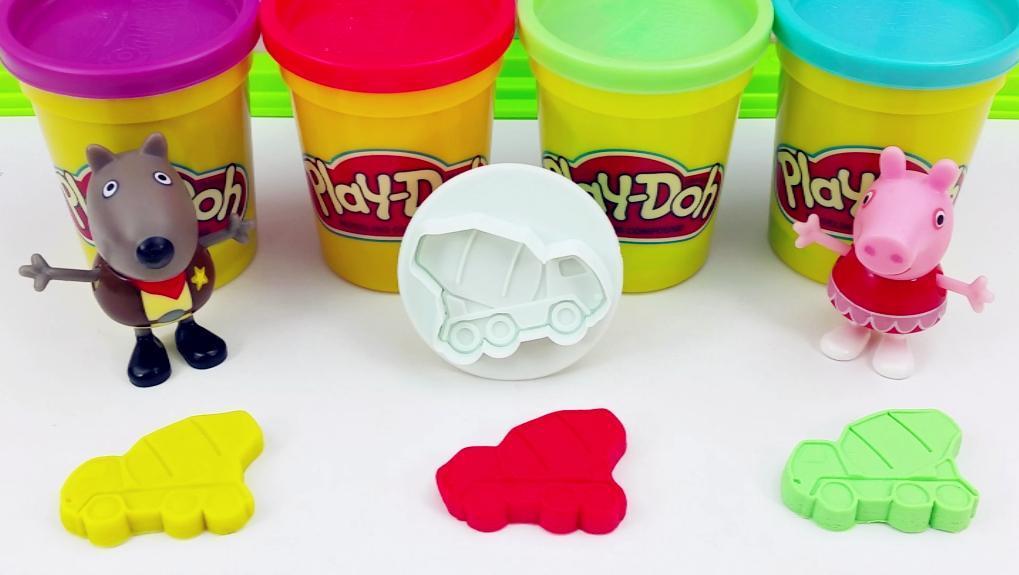 彩泥手工制作搅拌车 打开 益趣培乐多儿童玩具 手工彩泥水果蔬菜 打开