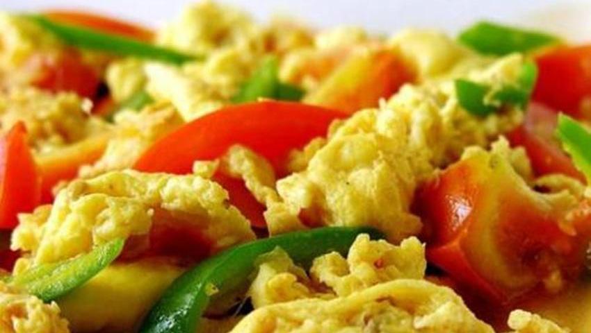 这才是西红柿炒鸡蛋的正确做法,西红柿汤汁与鸡蛋完美融合,太香了