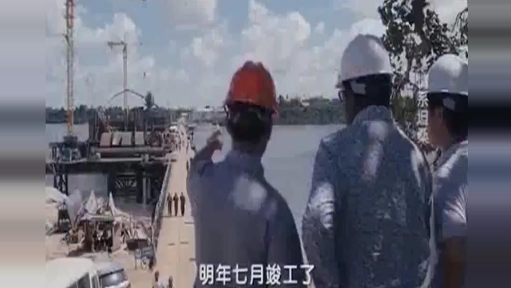 这座大桥欧洲人说10年才能修好,中国说3年,非洲总统选择中国