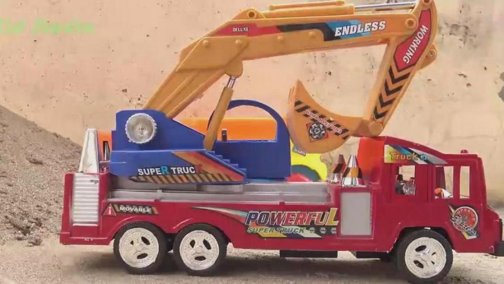 汽车挖掘机玩具车,婴幼儿宝宝玩具游戏视频